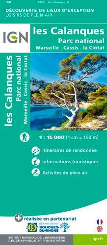 LES CALANQUES-MARSEILLE/CASSIS par COLLECTIF