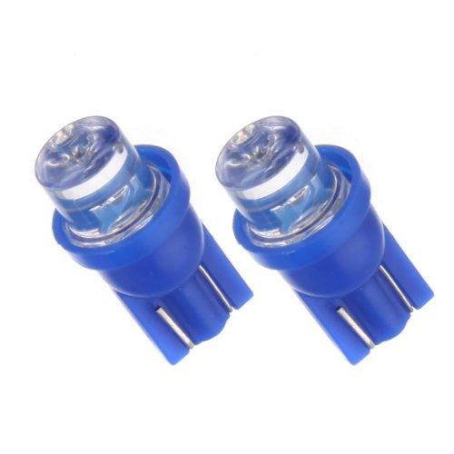 T10B - Bleu SMD LED lampe ampoule de rechange feux de position W5W T10 12V éclairage de plaque d'immatriculation éclairage intérieur