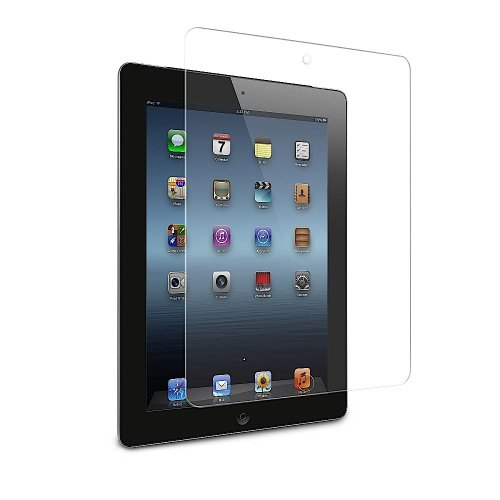ApeCases Curved 2.5D Tempered Glass Screen Guard Protector for For Apple iPad 2 3 4