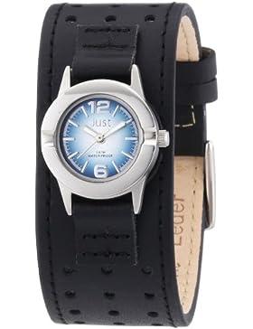 Just Watches Damen-Armbanduhr XS Analog Quarz Leder 48-S9257-BL