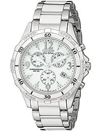 Citizen FB1230-50A - Reloj analógico para mujer, correa de cerámica color blanco