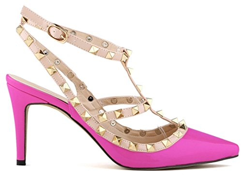 Fangsto  Heeled-sandals, Damen Pumps Pink Fuchsia