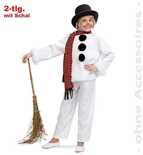 Schneemann Kostüm Tanz (Kinderkostüm