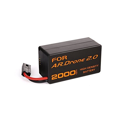 Batterie rechargeable 2000 mAh 11,1 V en lithium-ion polymer pour Parrot AR.Drone 2.0 Quadricoptère télécommandé (1 pcs)
