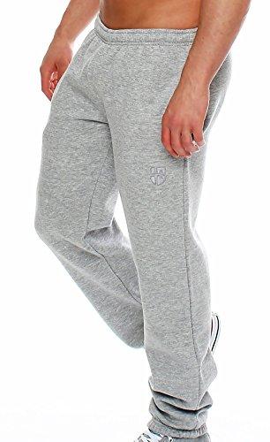 Hoppe Gennadi Herren Sporthose Trainingshose Jogginghose Pants Sweatpants,hellgrau,XX-Large