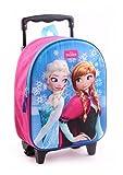 Disney Frozen Anna & ELSA Eiskönigin Rucksacktrolley Trolley Rucksack Koffer Kinderkoffer 33x25x10 cm