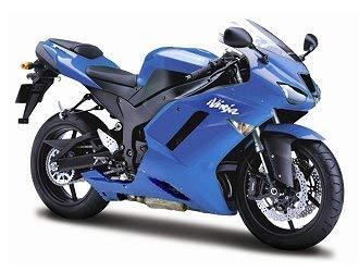 Maisto Moto ZX-6R 07- Kawasaki Ninja - Échelle 1:12 - 539155