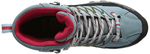 CMP Rigel - Scarpe da Arrampicata Alta Donna Turchese (Anice-tortora-ibisco)