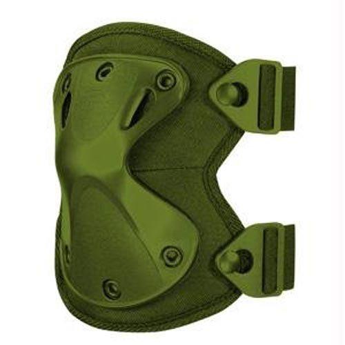 Hatch XTAK X-Shaped Thermal Plastic Urethane Knee Pads, OD Green 1011362