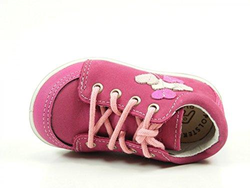 Ricosta 18-14600 Prisja chaussures premiers pas bébé pink