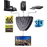 ADATECH 4k HDMI 3D Splitter Video Konverter Adapter 3 in 1 out Switch Box für HDTV HuB