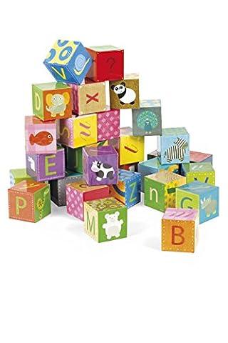 Janod - J02993 - Kubkid - Alphabet - 32 cubes