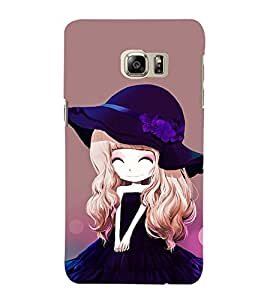 EPICCASE Cutie Doll Mobile Back Case Cover For Samsung Galaxy Note 5 Edge (Designer Case)