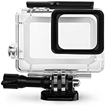 Rhodesy RH043 Custodia Protettiva Impermeabile Include Supporti e Viti per GoPro Hero 6 Hero 5 Action Camera