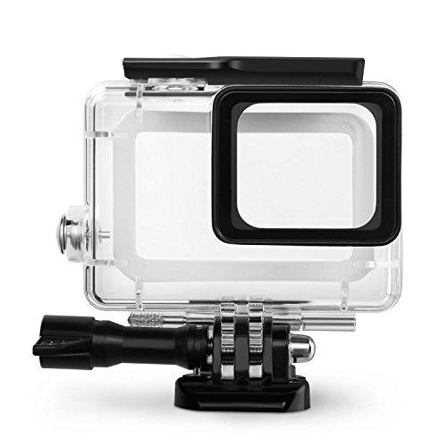 Galleria fotografica Rhodesy Custodia Protettiva Impermeabile Include Supporti e Viti per GoPro HERO 2018 Hero 6 Hero 5 Action Camera