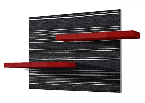Regalwelt 9001-KF-BLB-RUG Wandregal Picture, 110 x 60 x 15 cm