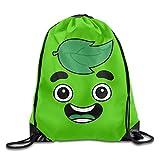 GONIESA Guava Juice Face Sackpack Training Gymsack Drawstring Bag Drawstring Backpack Sport Bag Travel Bag Pouch Portable Backpack Rucksack Bagsack Durable 210 D Polyester
