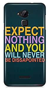 PCM High Quality Printed Designer Polycarbonate Hard Back Cover for Coolpad Note 3 - Matte Finish - Color Warranty - 2508