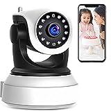 360º Kablosuz Wifi İp Kamera 1080P Full HD 1.3 MP Hareketli Kamera Gece Görüşlü Ev ve Bebek İzleme