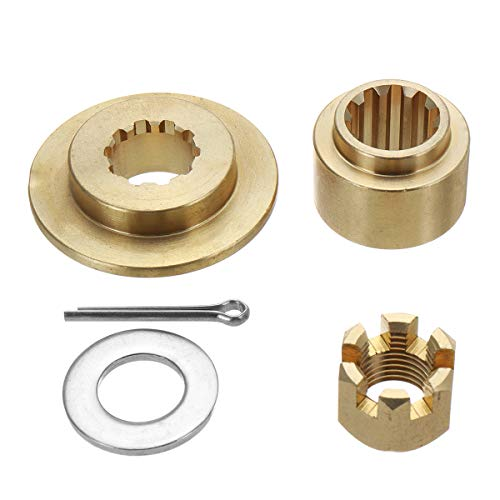 Wooya Propeller Hardware Kits Thrust Washer Spacer Nut Cotton Pin for Suzuki 20-30Hp -