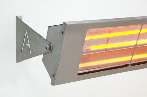 Alfresco Heizstrahler – ALF40 156cm lang, mittelwelliger elektrischer Infrarot- Heizstrahler mit 4 Kilowatt für Aussenbereich - 2