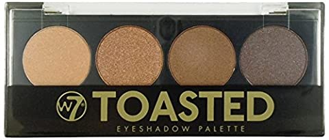 W7 Cosmetics Toasted 4 Colour Eye Shadow Palette