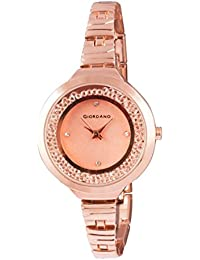 Giordano Analog Rose Gold Dial Women's Watch - C2043-22