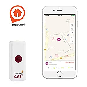 Weenect Cats 2 Traceur GPS pour Chat