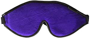 Dream Essentials Escape Luxury Travel Sleep Mask with Carry Pouch and Earplugs ~ Purple