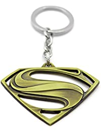 Batman Logo Keychain, High Quality Metal Batman Keychain Rugged Look And Strong, 3D Thick