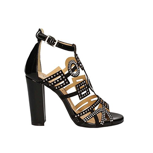 GRACE SHOES 9580 Sandalo tacco Donna Nero