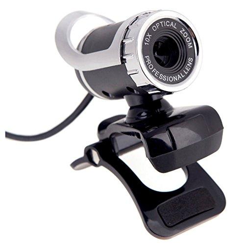 TOOGOO USB 2,0 50-Megapixel-Hd-Kamera-Webcam Mit Integriertem Mic-Clip-On Für Pc-Computer (Mic Computer Clip)