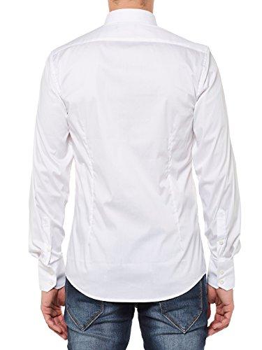 Antony Morato Chemise à manches longues homme Chemise business Bianco