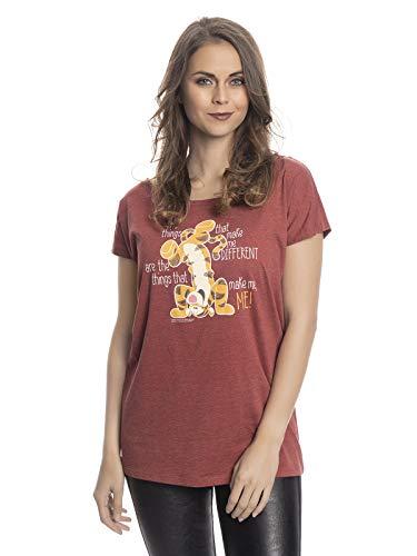Winnie Pooh Tigger - Different T-Shirt rot meliert L