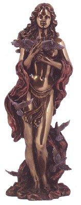 iechisch römischen Göttin der Liebe Statue, real Bronze Powder Guss 12Zoll Skulptur (Römische Göttin Der Liebe)