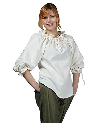 Epic Armoury - Camicia - Basic -  donna Bianco