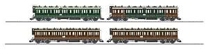 Märklin - 58026 - Modélisme Ferroviaire - Wagon - Coffret Voitures Voyageurs - Prussiennes - KPEV