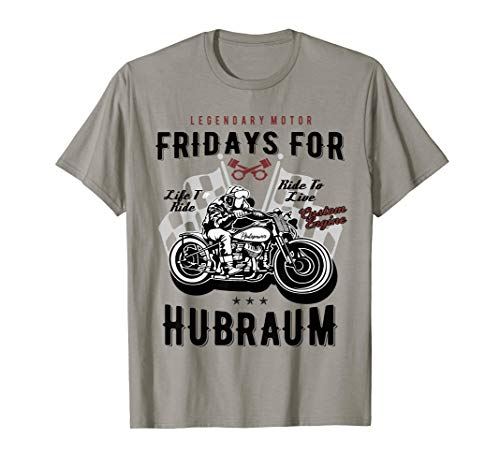Fridays for Hubraum Future Auto Motor Tuning Geschenk T-Shirt