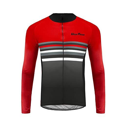 Uglyfrog Bike Wear Herren Fahrradtrikot Trikots & Shirts Fahrrad Hemd Fahrrad Top Outdoor Sports Radfahren Herbst Cycling Jersey