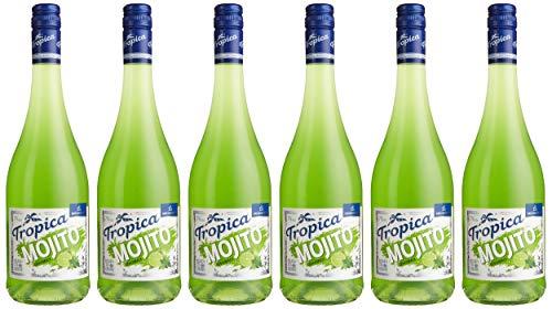 KATLENBURGER Tropica Mojito 6 x 0,75 l, fertig gemischter Cocktail; 70% Fruchtwein, 3% Limettensaft; mit Kohlensäure; 7% vol.