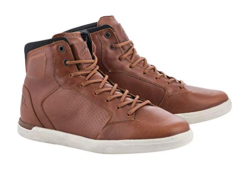 Alpinestars Stivali Moto J Cult Shoes Brown, Marrone, 39