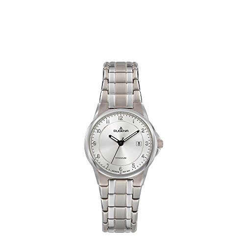 Dugena Womens Analogue Quartz Watch with Titanium Strap 4460870