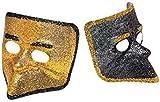 LIBROLANDIA 5106V MASCHERA MEZZO VISO PVC GLITTER CANAL GRANDE