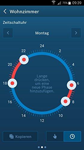 Bosch Smart Home Heizung Starter-Paket mit Controller und Heizkörper-Thermostat und App-Funktion
