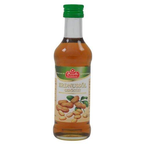Erdnussöl geröstet, Kunella Feinkost (100 ml)