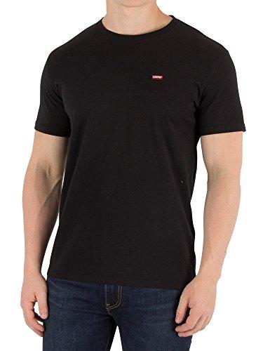Levi's ss original hm tee, t-shirt uomo, multicolore (cotton + patch black 0009), x-large
