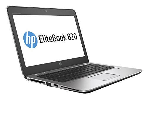 HP EliteBook 820 G3 12 5  Laptop - Core i7 2 5GHz CPU  8GB RAM  256GB SSD  Windows 10 Pro