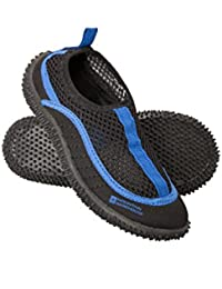Mountain Warehouse Bermuda Junior Aqua Shoes - Lightweight Kids Swim Shoes, Easy Slip On Wet Shoes, Neoprene Water Shoes, Mesh Panel Shoe Socks- For Walking Underwater