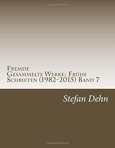 Fremde by Stefan Dehn (2015-09-01)