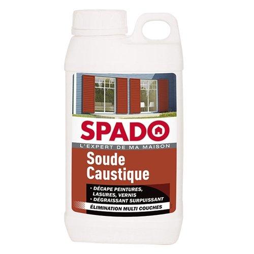 SPADO Soude Caustique Pure en Perles 1 kg